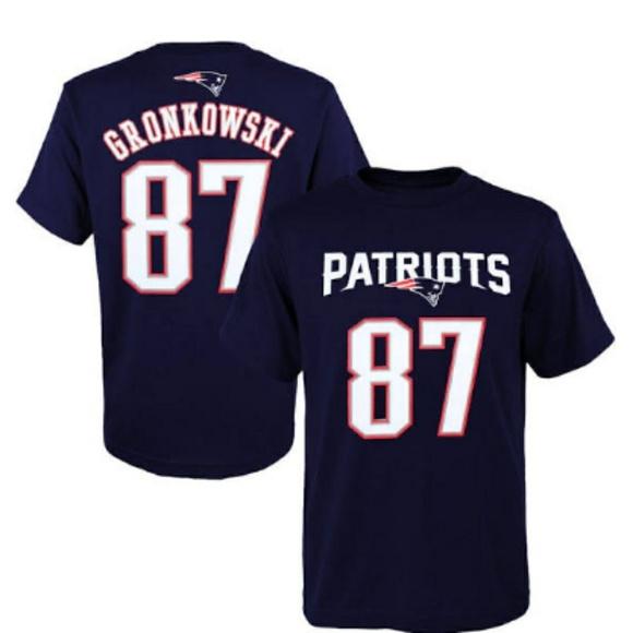 youth xl gronkowski jersey